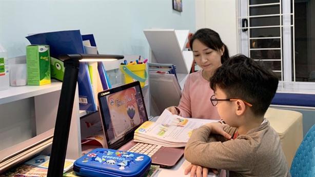 Hải Phòng dừng dạy online lớp 1, 2 vì không hiệu quả