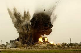 Khi bay đến địa điểm đã định, phi công khai hỏa quả bom laser dẫn đường GBU-12. Nhưng sự cố hy hữu đã xảy ra quả bom đã hướng tới địa điểm khác cách nơi huấn luyện 5,5 km. Khu vực quả bom rơi xuống thộc quyền sở hữu tư nhân. May mắn không có người bị thương và thiệt hại tài sản trong vụ việc.