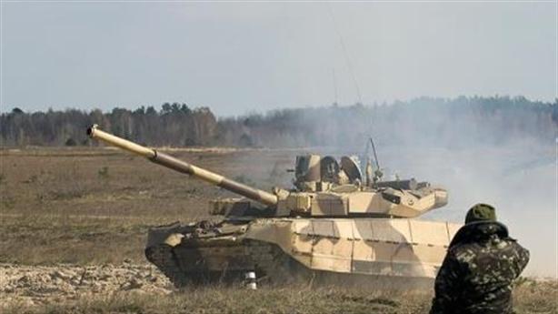 Lính Mỹ học lái tăng T-84