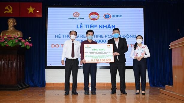 Hưng Thịnh tiêm miễn phí 14.000 liều vắc-xin Covid-19 cho nhân viên