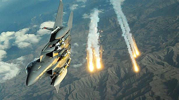 F-15E đánh thẳng vào khu vực Nga kiểm soát