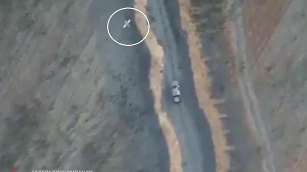 Lộ video Nga dùng UAV cảm tử tấn công phiến quân