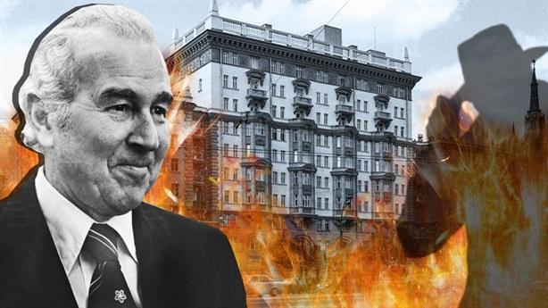 Tiết lộ vụ cháy Đại sứ quán Mỹ ở Moscow
