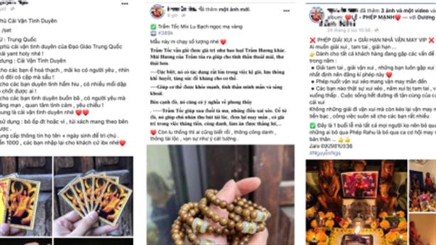 Bùa yêu đầu năm, gái bán hoa tìm đến: Không nên tin