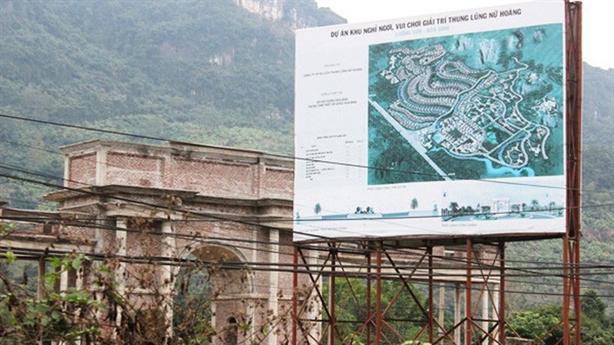 Thung lũng Nữ hoàng và loạt dự án bị thanh tra