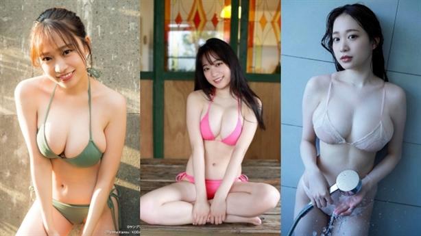 Mỹ nhân Nhật được vạn người yêu thích vì vòng một đẹp