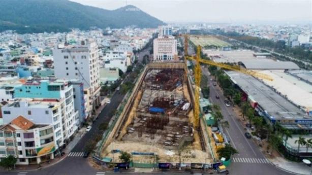 Bình Định: Phạt công trình nghìn tỷ không phép của Đô Thành