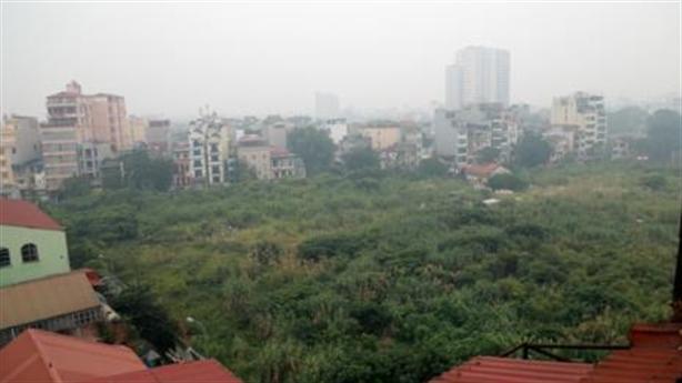 Nhiều đất vàng Hà Nội bỏ hoang vào tầm giám sát