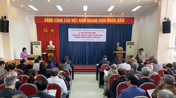 Liên Hiệp Hội Việt Nam tổng kết công tác Đảng năm 2020