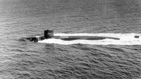 Vụ chìm tàu ngầm Mỹ USS Thresher đã được giải mật