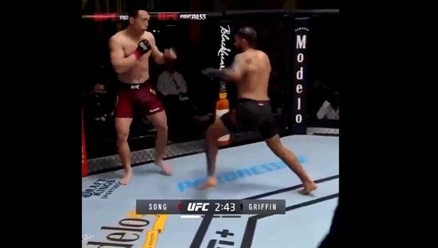Cao thủ Trung Quốc không kịp trở tay trên sàn UFC