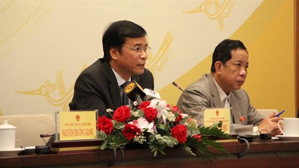 Quốc hội dành 7 ngày xem xét nhân sự Nhà nước