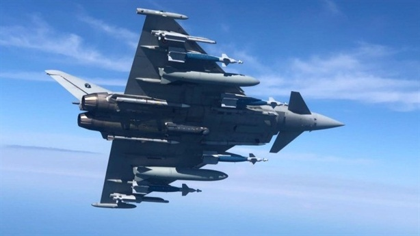 Typhoon fighters can carry even more weapons.