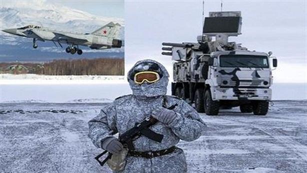 Các máy bay chiến đấu sẽ được thử nghiệm ở Bắc Cực