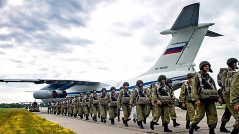 Crimea củng cố sức mạnh bằng đơn vị dù tinh nhuệ nhất