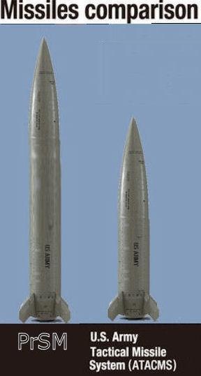 Để phù hợp với chiến tranh hiện đại, Quân đội Mỹ đã khởi động chương trình Vũ khí tấn công chính xác tầm xa mới – LRPF để tìm kiếm dòng tên lửa chiến thuật mới thay thế ATACMS. Chương trình sau đó được tên thành Precision Strike Missile (PrSM). Và khi không bị INF ràng buộc, Mỹ đã lần đầu công bố tầm bắn thật của vũ khí này. Cụ thể thay vì trên 400km như trước đây được công khai, PrSM có thể đạt được tầm bắn tối đa lên tới 750km.