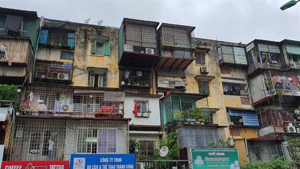 Cải tạo chung cư cũ quận Ba Đình: Được tăng tầng cao