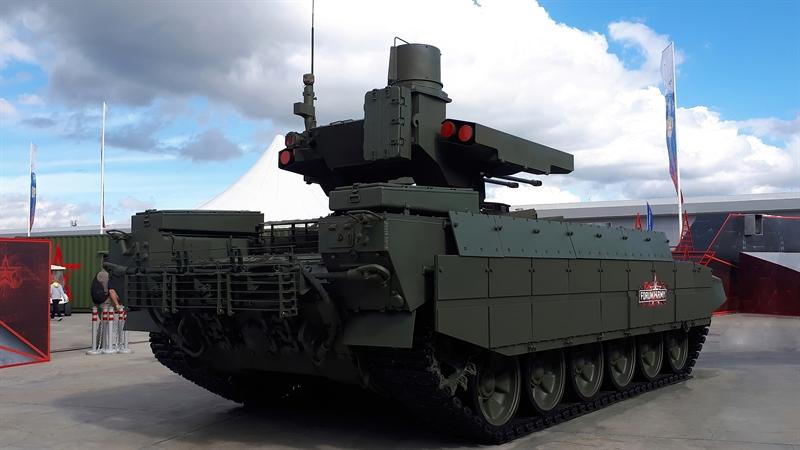 Phát biểu trong buổi thử nghiệm phiên bản mới, Đại tá Andrey Sigarev, phó chỉ huy sư đoàn xe tăng số 90 Nga cho biết: \