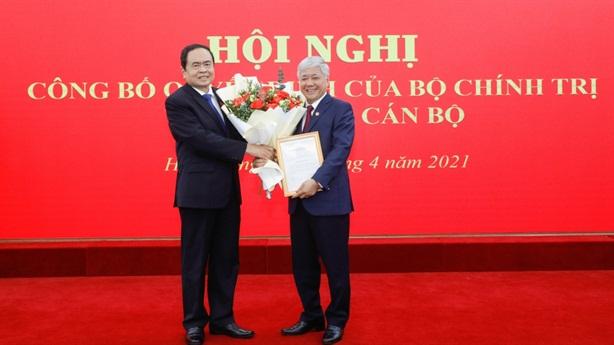 Chỉ định Bộ trưởng Đỗ Văn Chiến giữ chức vụ mới