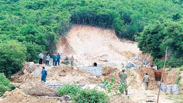 Thanh tra việc phân lô, bán nền đất ở Khánh Hòa