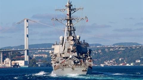 Nga lạnh giọng khi chiến hạm Mỹ tới biển Đen 'giúp Ukraine'