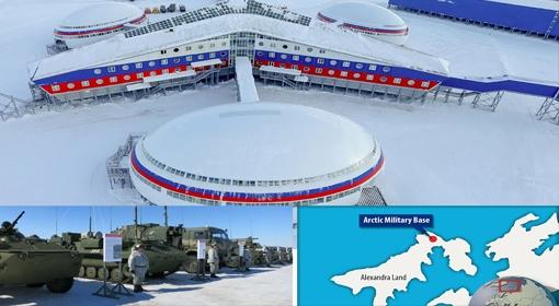 Mỹ vạch kế hoạch thống trị Bắc Cực trước mắt Nga