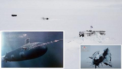 3 tàu ngầm Nga cùng nổi: Mồi ngon cho tàu ngầm Mỹ?