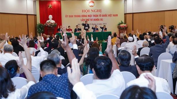Ông Đỗ Văn Chiến làm Chủ tịch UBTƯ MTTQ Việt Nam