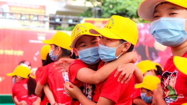 Một ngày hội đáng nhớ của các em học sinh Quảng Bình