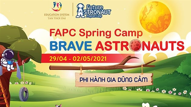 Trại rèn luyện FAPC tuyển sinh các Phi Hành Gia nhí