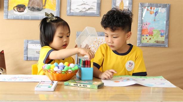 Mầm non Tân Thời Đại Nguyễn Xiển tổ chức Open Day