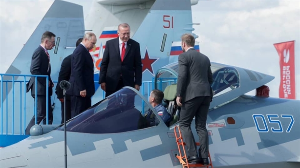 Thổ mua Su-57 với động cơ Izdeliye 30