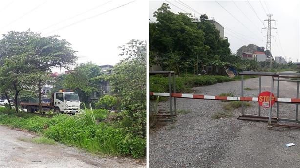 Khu nhà ở Văn La bị đưa vào giám sát
