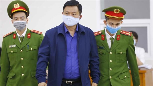 Ông Đinh La Thăng chấp nhận án 11 năm tù