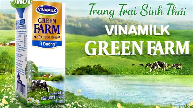 Sữa Green Farm từ trang trại sinh thái-Team Gogreen đừng bỏ qua