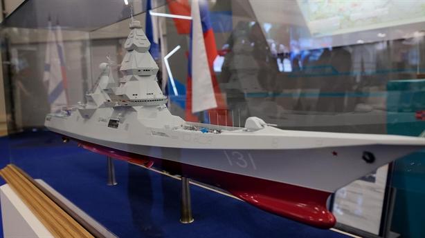 Cấm vận có làm khó Nga đóng chiến hạm Leader?