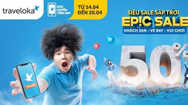 Traveloka tung Epic Sale: kích cầu du lịch Việt