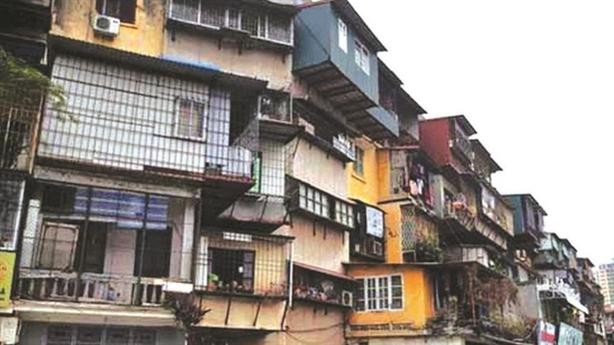 Hà Nội dùng ngân sách kiểm định, đánh giá chung cư cũ