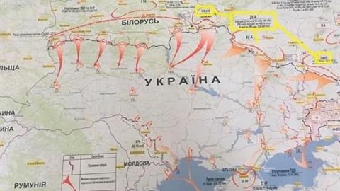 Military Maps vẽ bản đồ Nga tác chiến nếu...Ukraine tấn công Donbass?