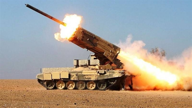 Saudi dùng TOS-1A đáp trả vụ Aramco bị tấn công