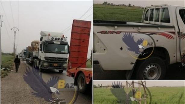 Đoàn xe Mỹ bị tấn công khi đến mỏ dầu Syria