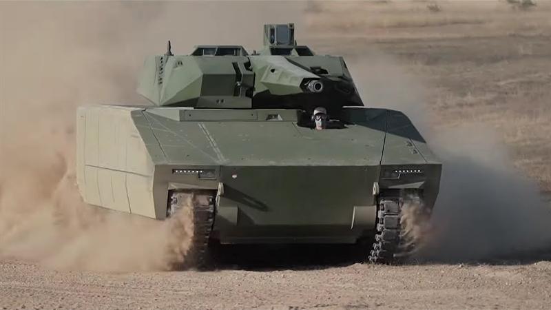 Xe được trang bị tổ hợp tên lửa tên lửa chống tăng có điều khiển (ATGM), hệ thống điều khiển vũ khí từ xa, một súng máy đồng trục 7,62mm RMG7.62 3 nòng. Hệ thống vũ khí điều khiển thứ cấp kết nối với hệ thống kính ngắm quang điện tử của xe.