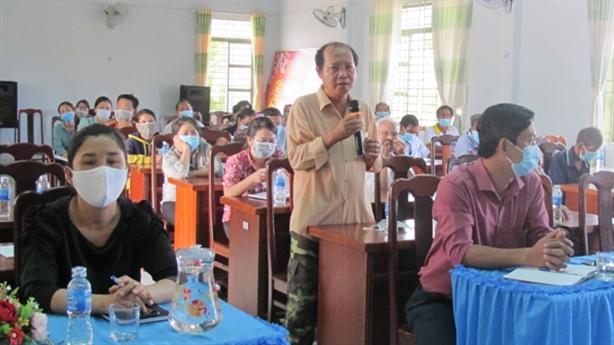 Cử tri Ninh Thuận kỳ vọng vào các ứng viên ĐBQH