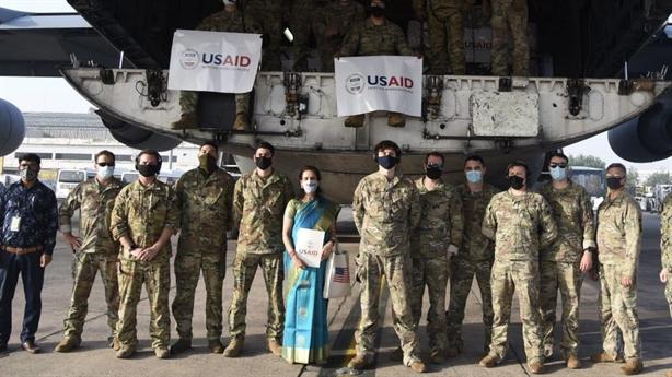 Mỹ hoãn cứu trợ Ấn Độ vì bảo trì...máy bay