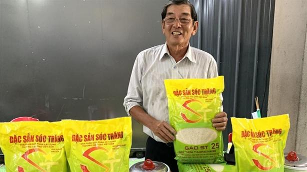 Nhượng quyền giống lúa ST25 cho Nhà nước: Băn khoăn