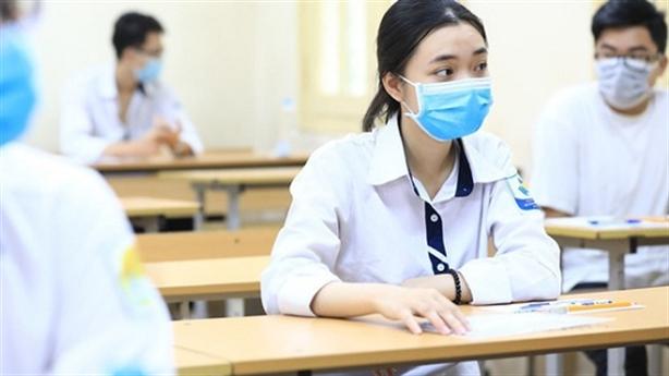 Dịch phức tạp, có thể thi tốt nghiệp THPT nhiều đợt