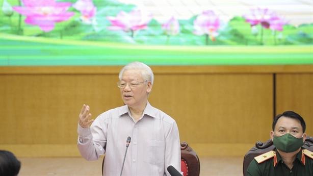 Tổng Bí thư thân tình, Thủ tướng thiết thực gặp cử tri