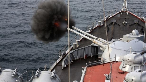 Pháo hạm Nga diệt mọi mục tiêu trên biển