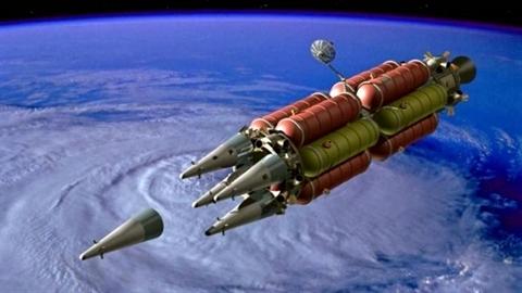 Mỹ đưa VKHN lên không gian dưới chiêu