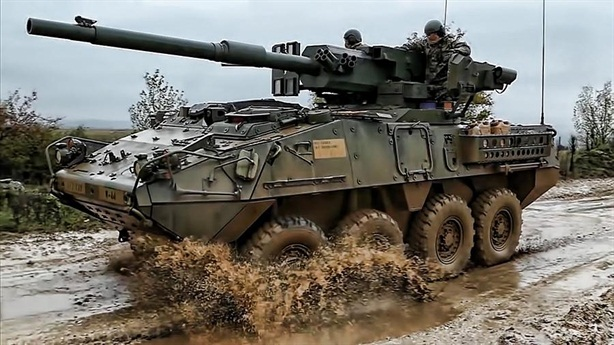 Mỹ biến Stryker thành tăng hạng nhẹ đấu với Sprut-SD